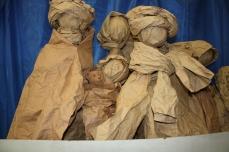 scultura di carta